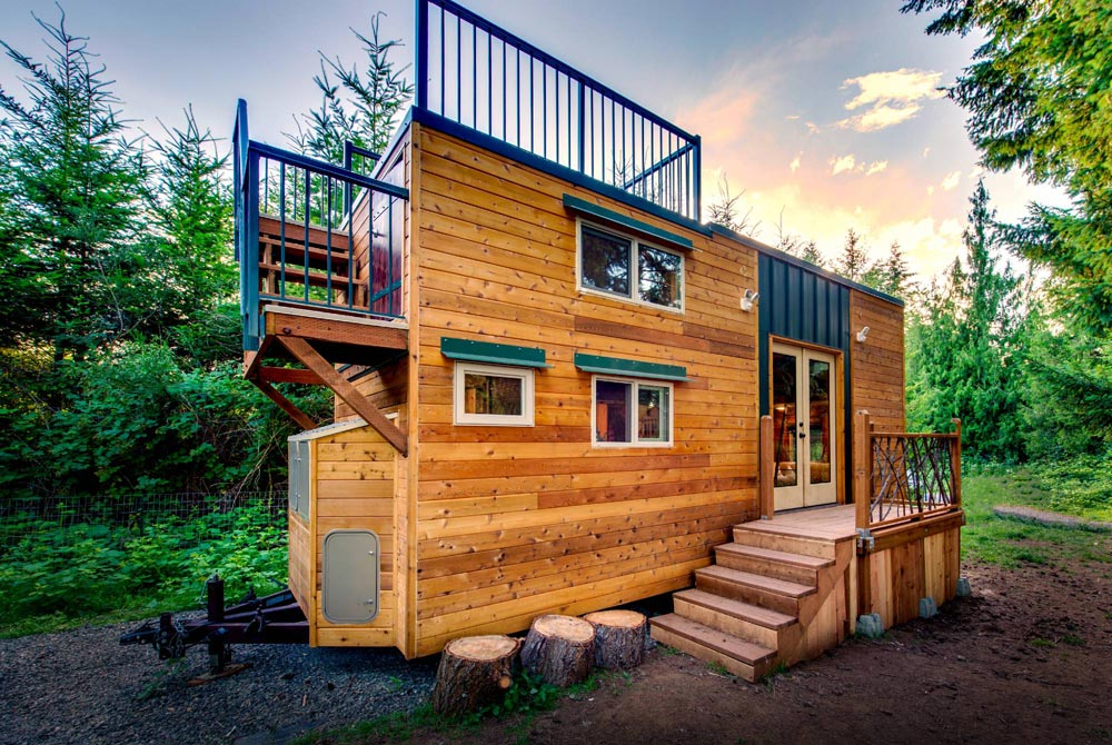 Basecamp + Green by Backcountry Tiny Homes