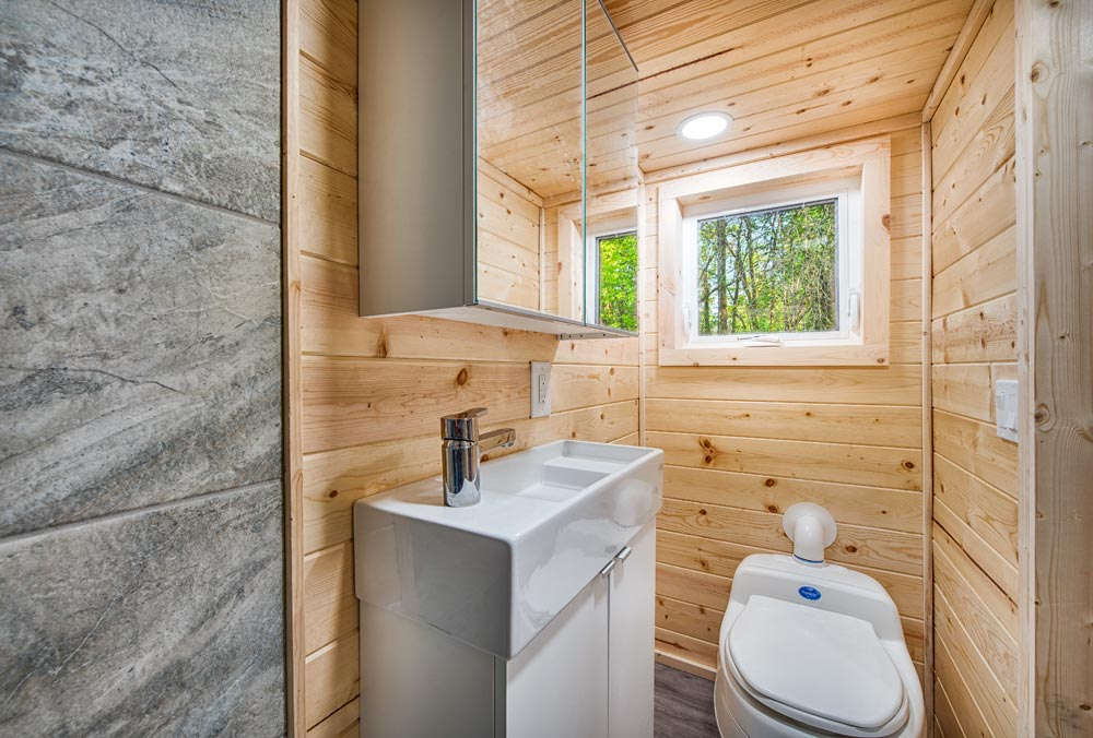 Bathroom - Basecamp + Green by Backcountry Tiny Homes