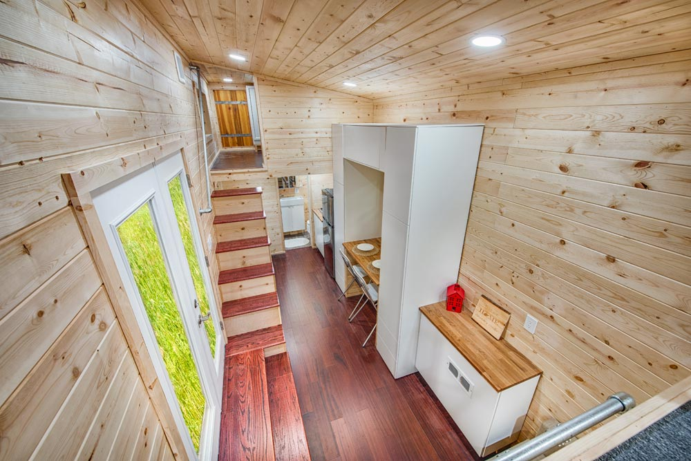 Tiny House Interior - Basecamp + Green by Backcountry Tiny Homes