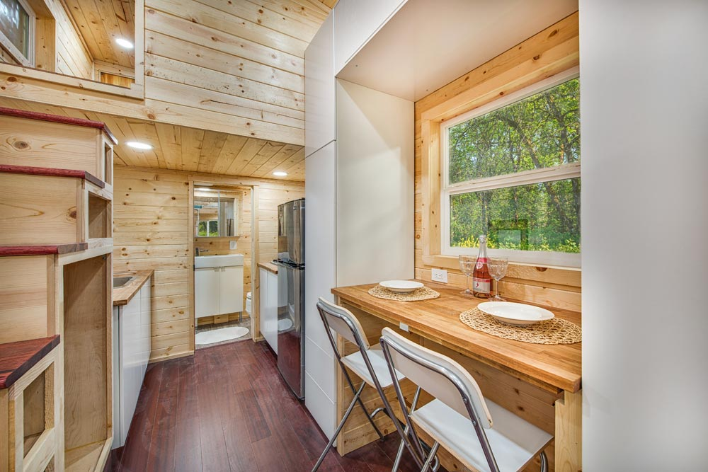 Dining Area - Basecamp + Green by Backcountry Tiny Homes