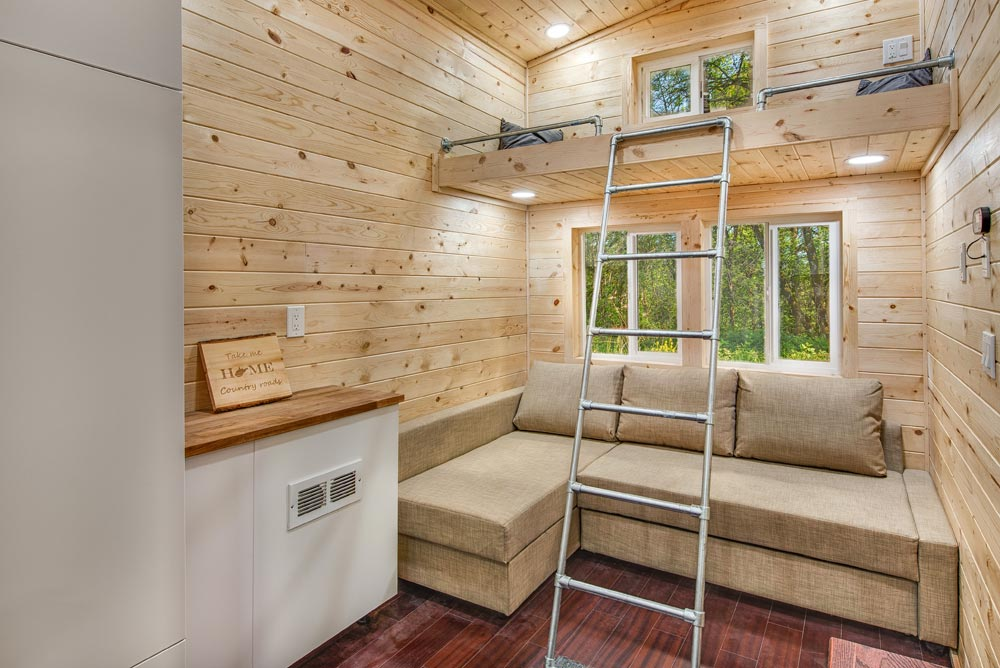 Guest Loft - Basecamp + Green by Backcountry Tiny Homes