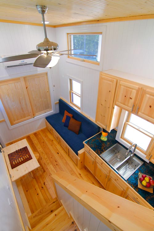 Living Room - Blue Belle by Bear's Tiny Homes
