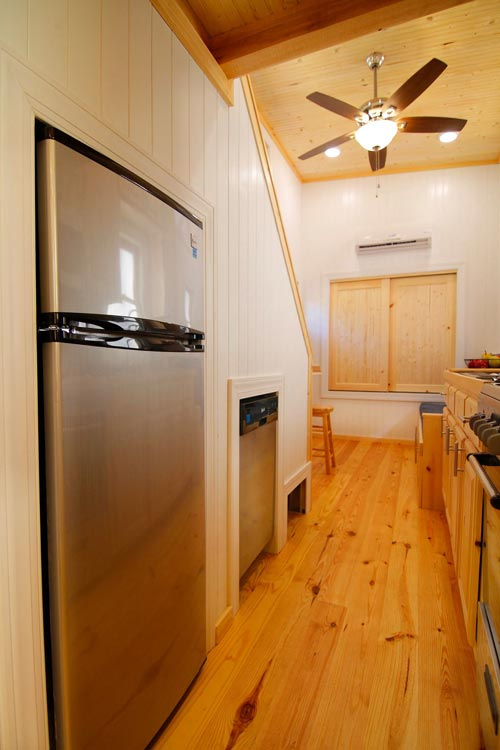 Refrigerator - Blue Belle by Bear's Tiny Homes