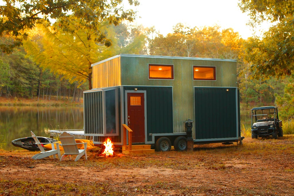Outdoor Living - Blue Belle by Bear's Tiny Homes