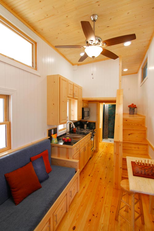 Living Area - Blue Belle by Bear's Tiny Homes
