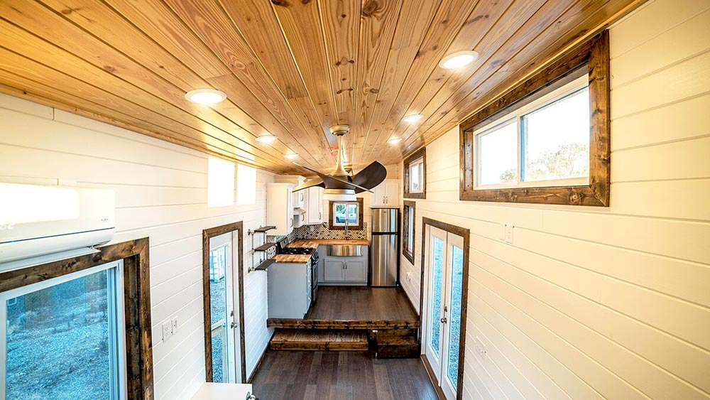 View From Loft - Blue Moon by Harmony Tiny Homes
