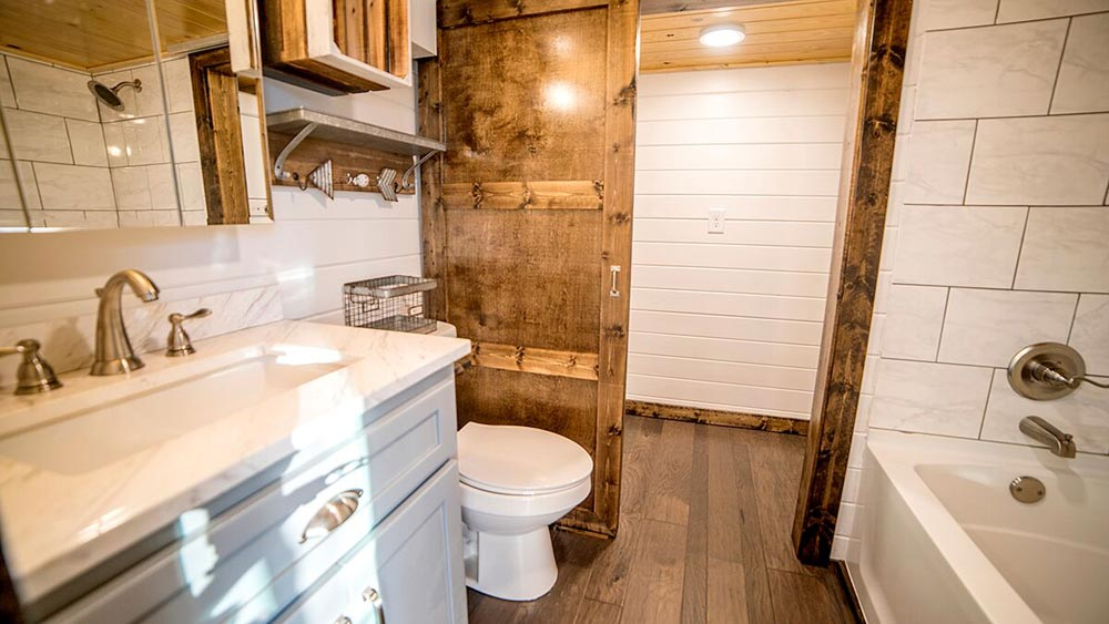 Full Bathroom - Blue Moon by Harmony Tiny Homes