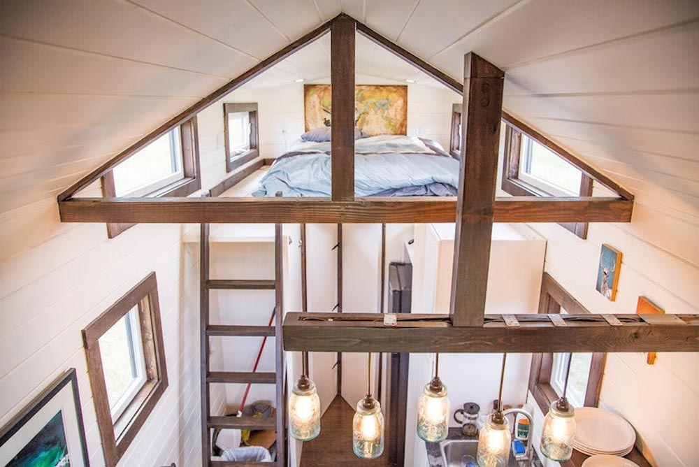Open Beams - Bozeman Off-Grid Tiny House