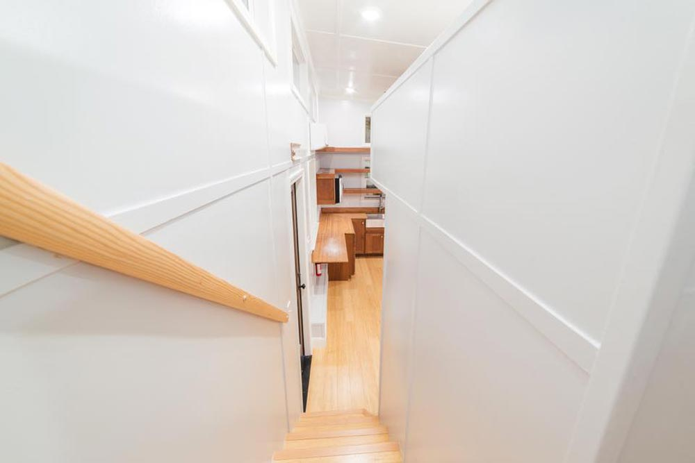 Stairs - Custom Tiny by California Tiny House