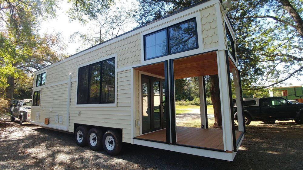 Screened-In Deck - No. 4 Cotton Burrow by Perch & Nest