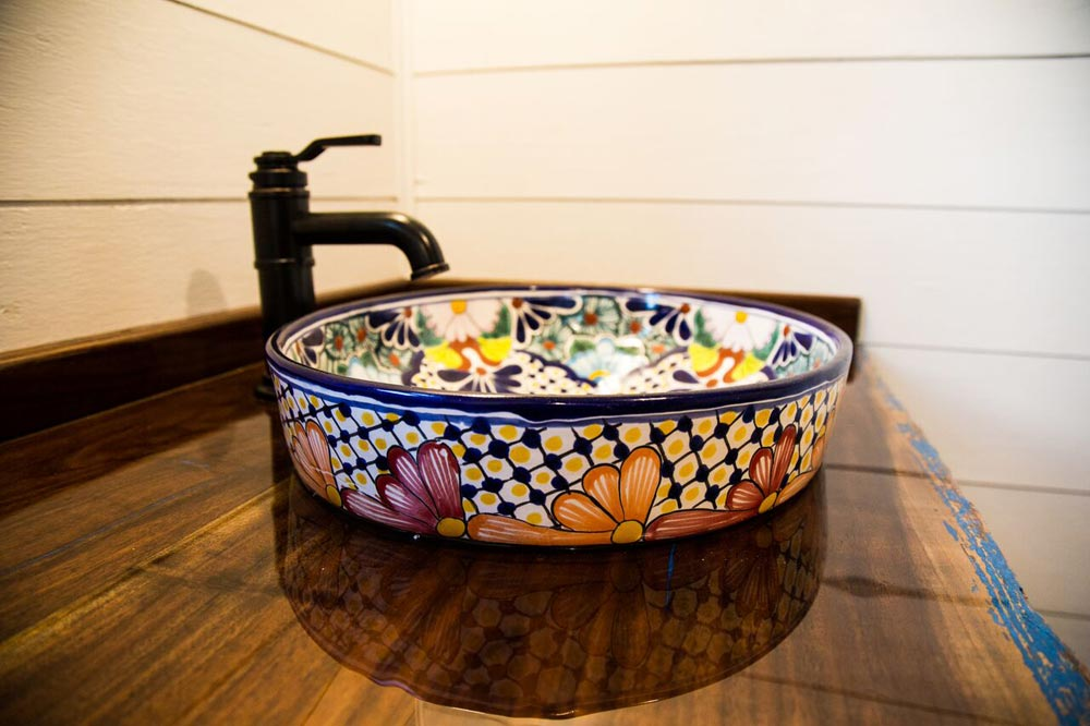 Custom Bathroom Sink - Hyacinth by Harmony Tiny Homes