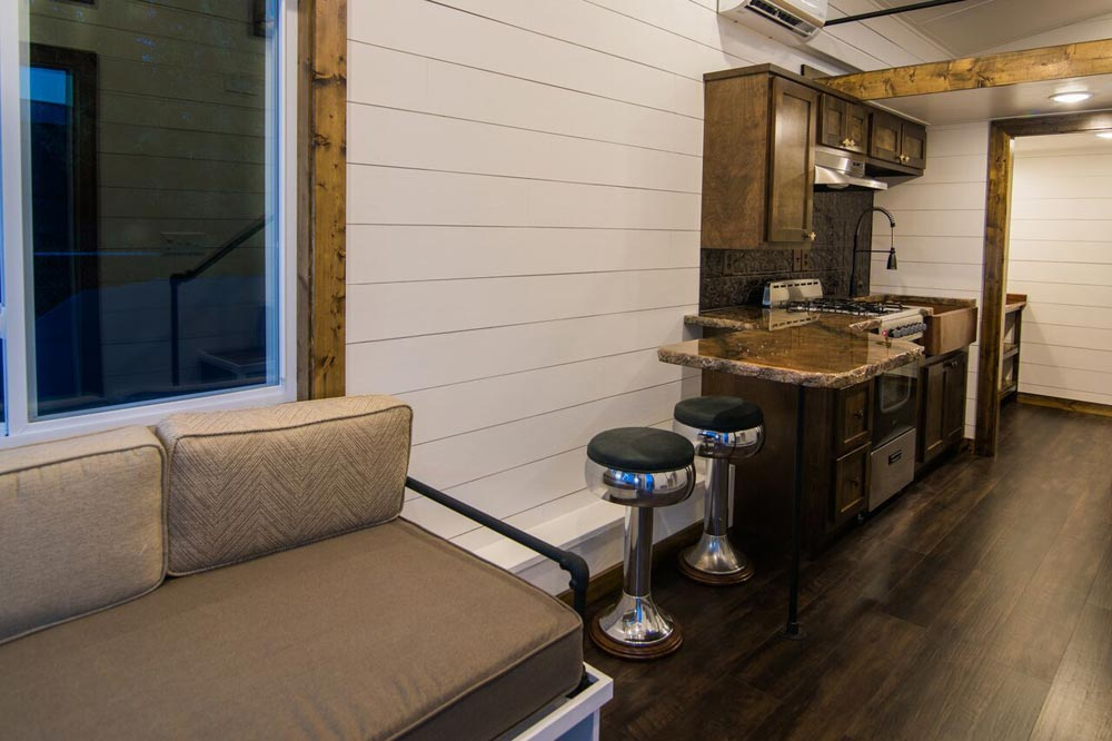 Couch & Stools - Hyacinth by Harmony Tiny Homes
