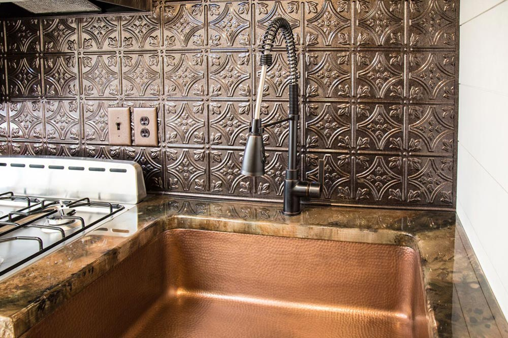 Copper Apron Sink - Hyacinth by Harmony Tiny Homes