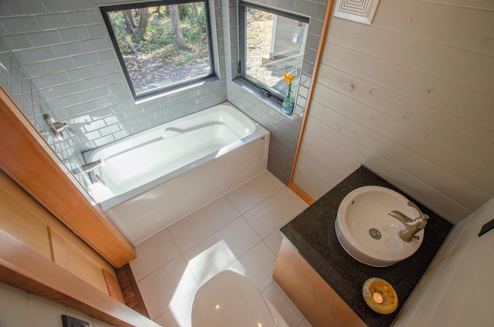 Tile Bathroom - Kestrel by Rewild Homes