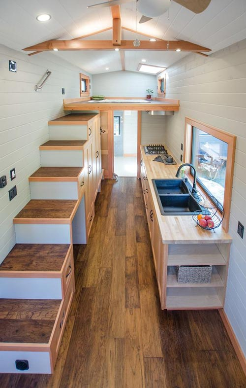 Tiny House Interior - Kestrel by Rewild Homes