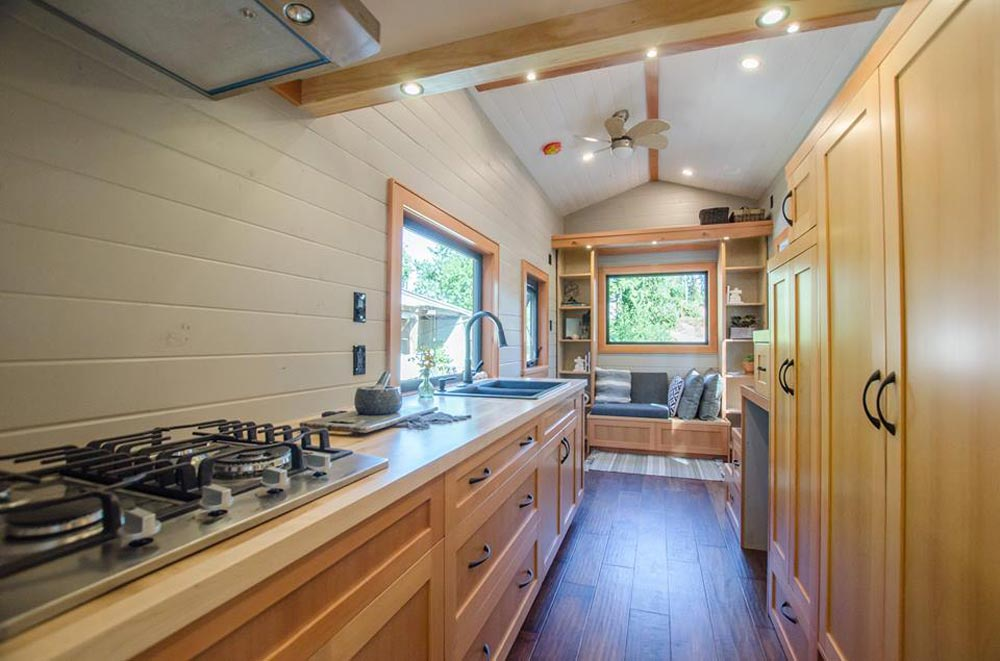 Kitchen & Storage - Kestrel by Rewild Homes