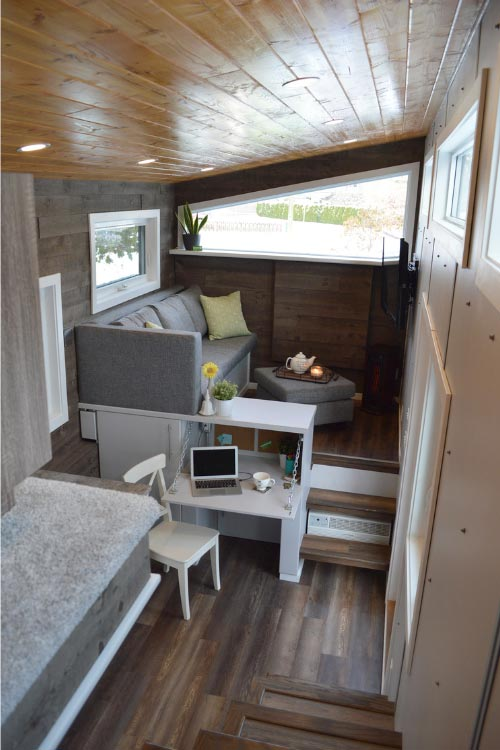 Tiny House Interior - Pursuit by Nielsen Tiny Holmes