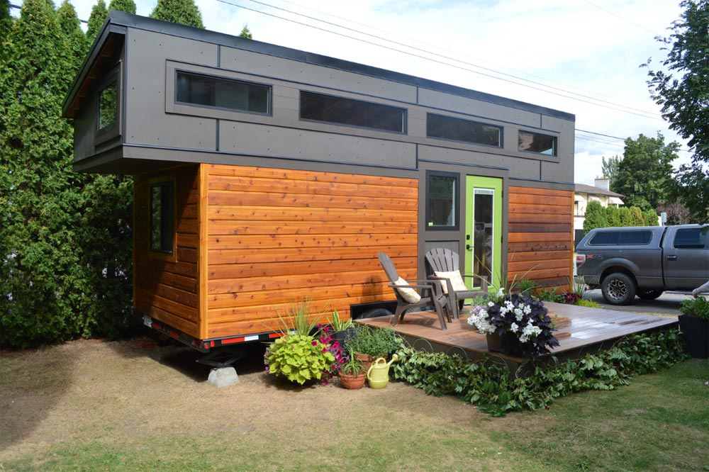 Rustic Modern Exterior - Pursuit by Nielsen Tiny Holmes