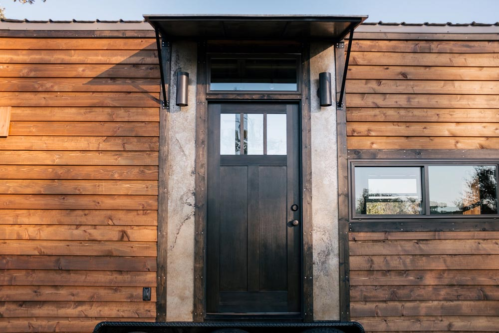 Front Door - Silhouette by Wind River Tiny Homes