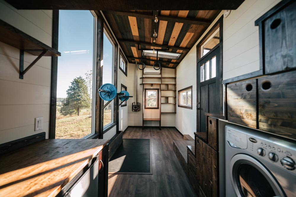 Tiny House Interior - Silhouette by Wind River Tiny Homes