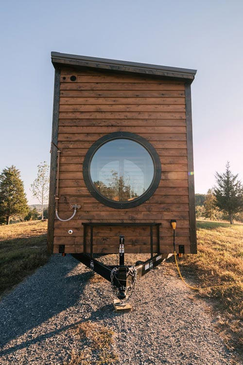 Outdoor Shower - Silhouette by Wind River Tiny Homes