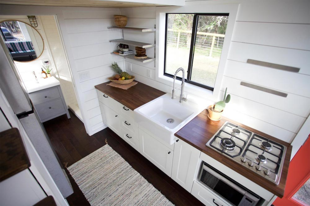 Kitchen - Texas Hill Country by Nomad Tiny Homes