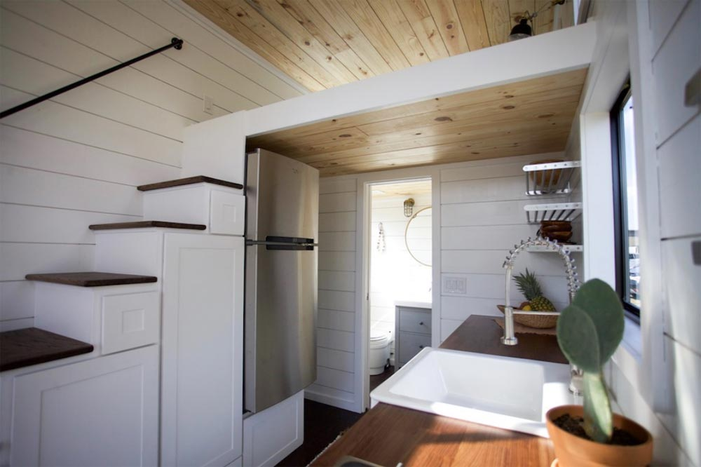 Refrigerator - Texas Hill Country by Nomad Tiny Homes