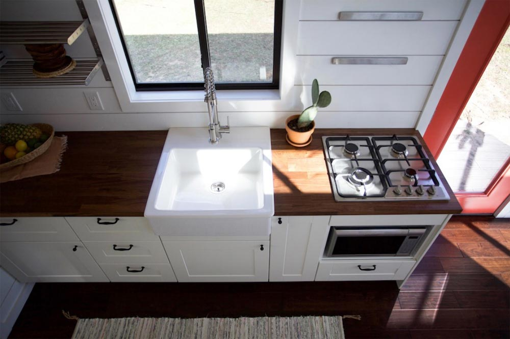 Farmhouse Sink - Texas Hill Country by Nomad Tiny Homes