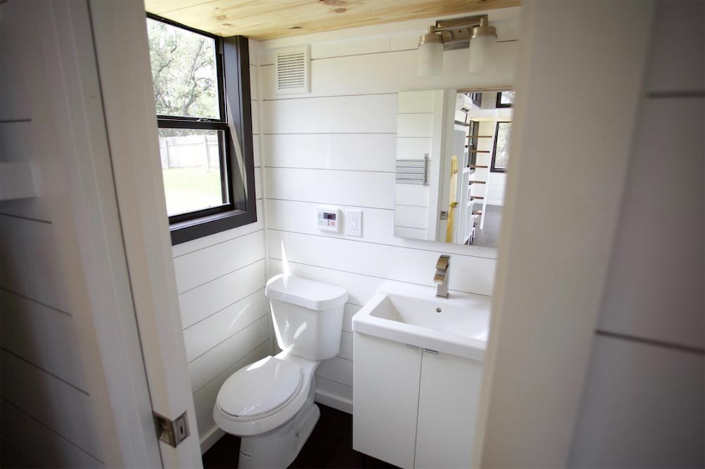 Bathroom - Texas Waterfront by Nomad Tiny Homes