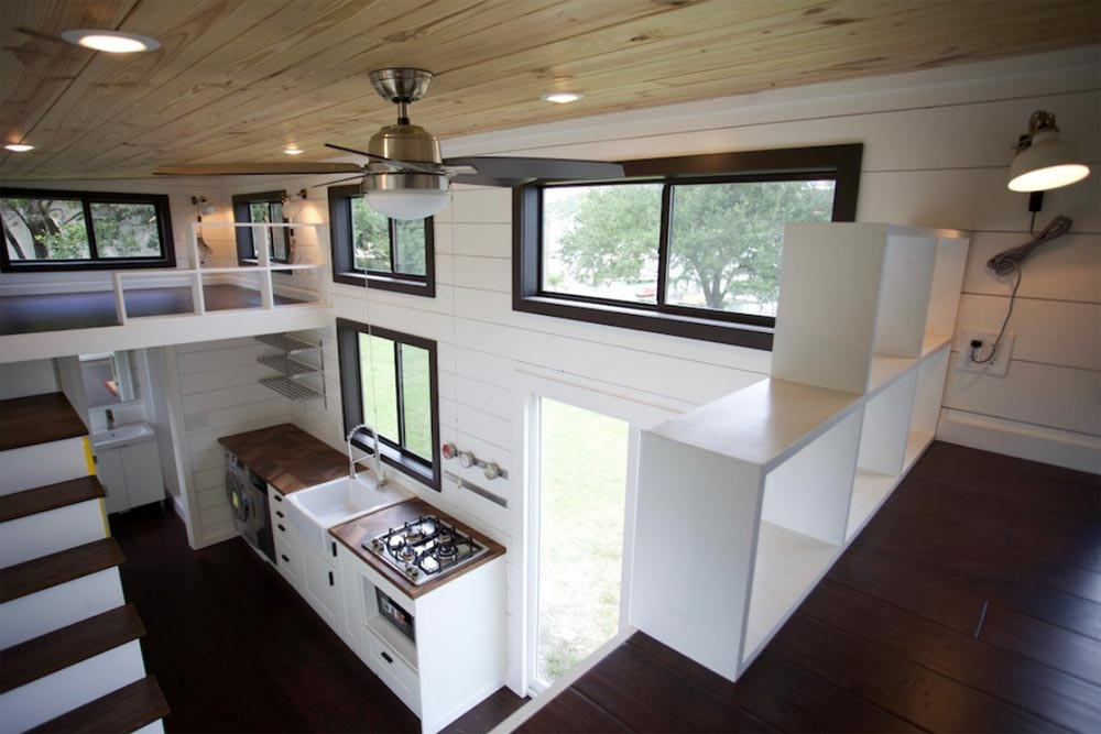 Large Windows - Texas Waterfront by Nomad Tiny Homes