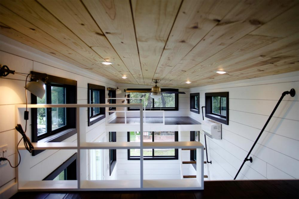 Bedroom Lofts - Texas Waterfront by Nomad Tiny Homes