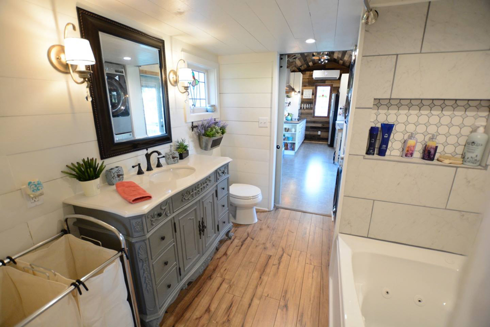 Vintage Vanity - Vintage Retreat by Hill Country Tiny Houses