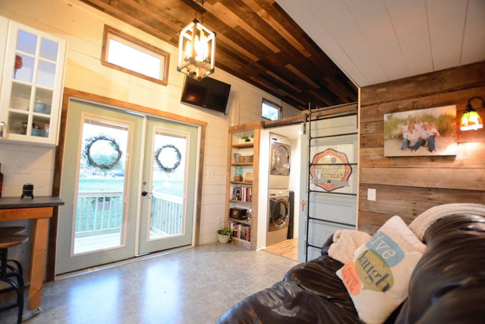 Living Room - Vintage Retreat by Hill Country Tiny Houses
