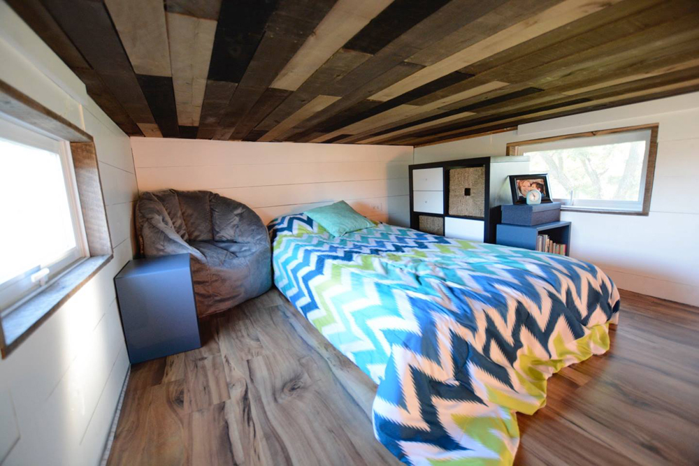 Bedroom Loft - Vintage Retreat by Hill Country Tiny Houses