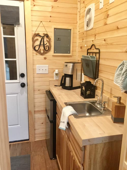 Entry - Alpine by Tiny House Building Company