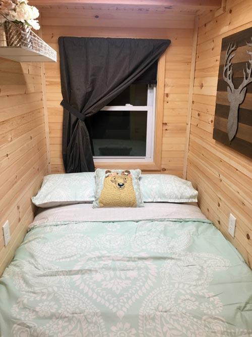 Main Level Bedroom - Alpine by Tiny House Building Company