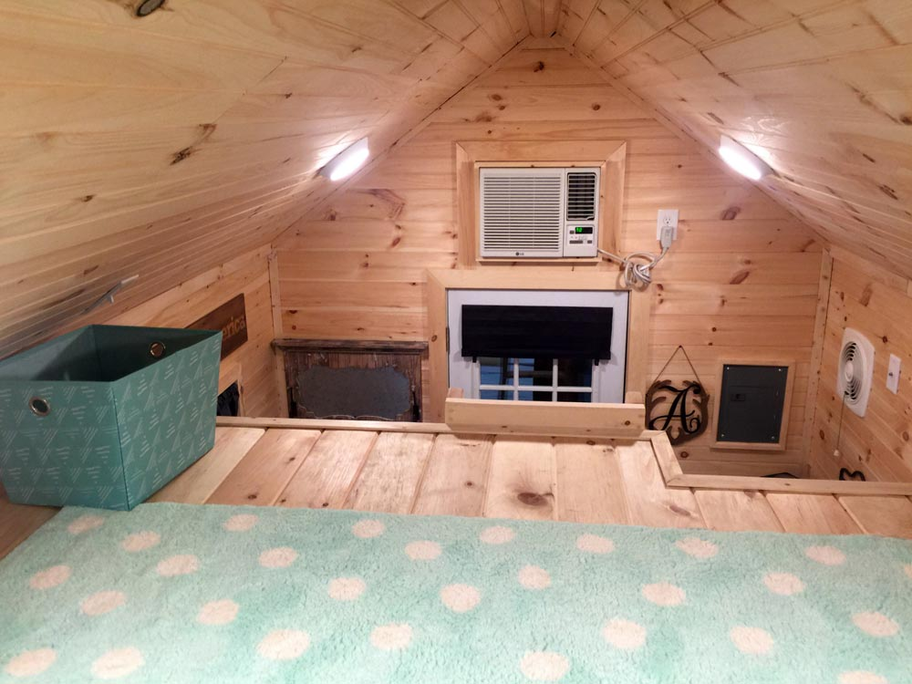 View From Loft - Alpine by Tiny House Building Company