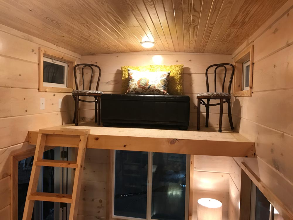 Storage Loft - California Red by Incredible Tiny Homes