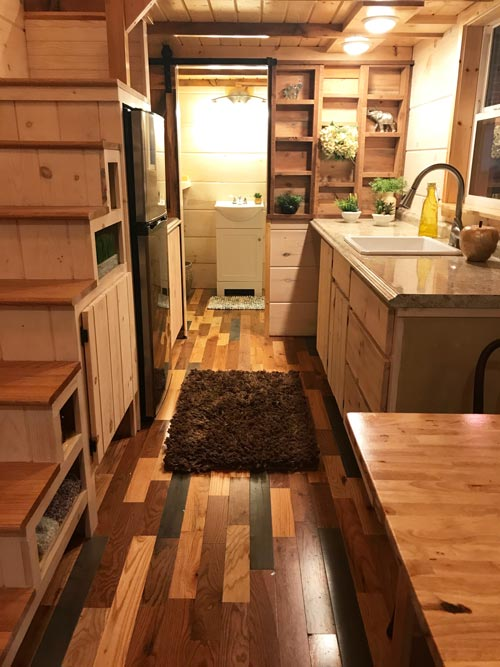 Multicolor Flooring - California Red by Incredible Tiny Homes