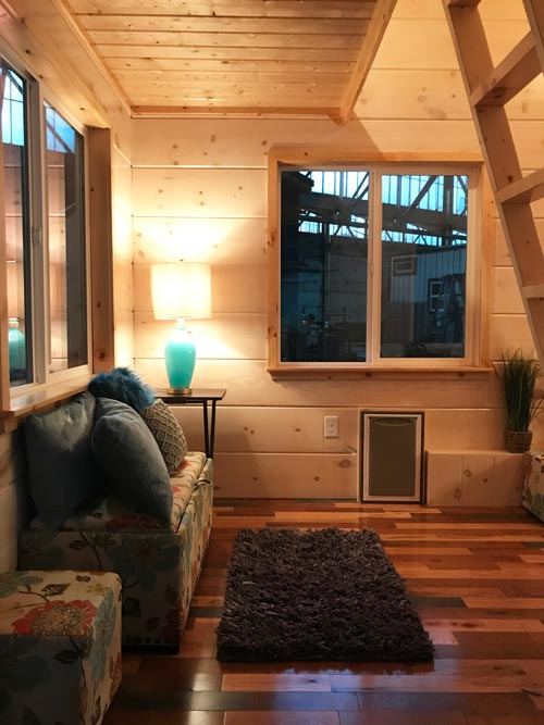 Living Room - California Red by Incredible Tiny Homes