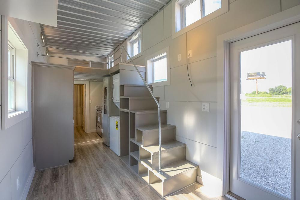 Storage Stairs - Empty Nester by Custom Container Living