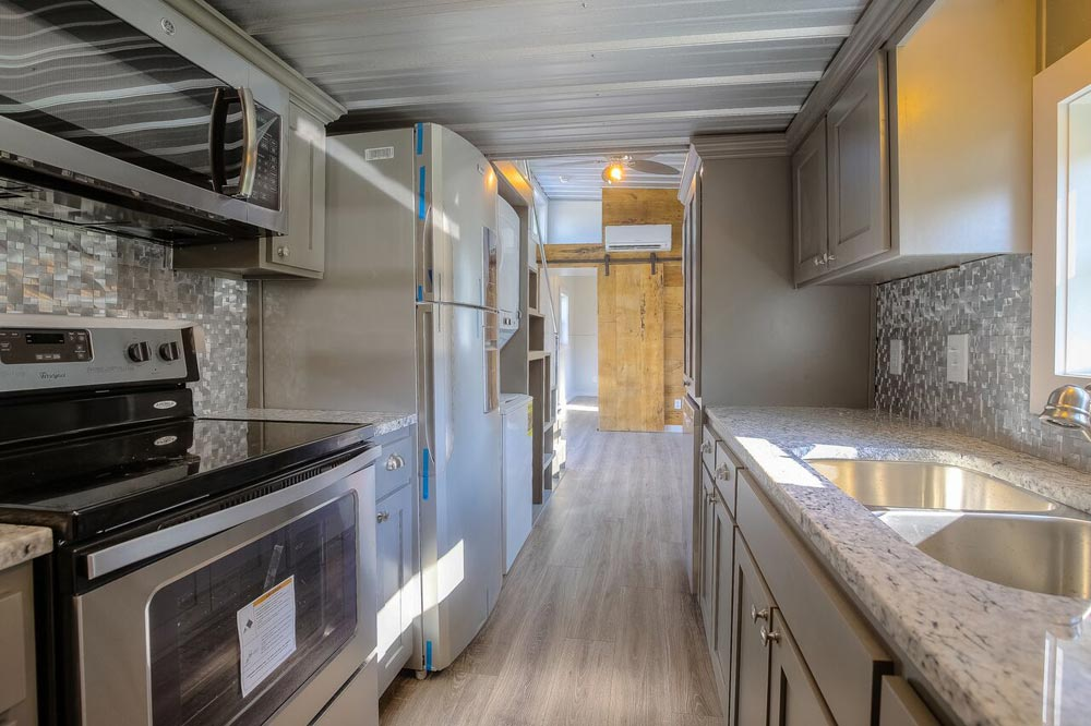 Galley Kitchen - Empty Nester by Custom Container Living