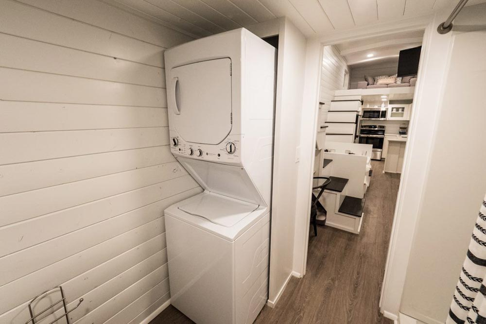 Stackable Washer/Dryer - Hekkert Hideaway by Free2Roam Tiny Homes
