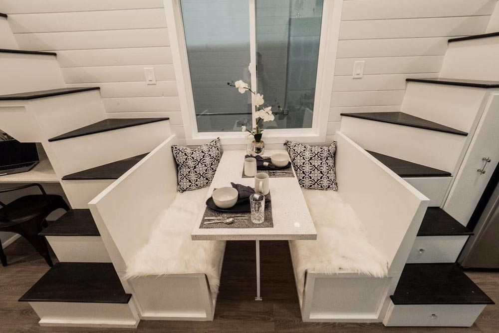 Dining Table - Hekkert Hideaway by Free2Roam Tiny Homes