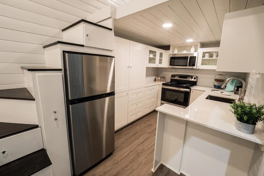 Refrigerator - Hekkert Hideaway by Free2Roam Tiny Homes