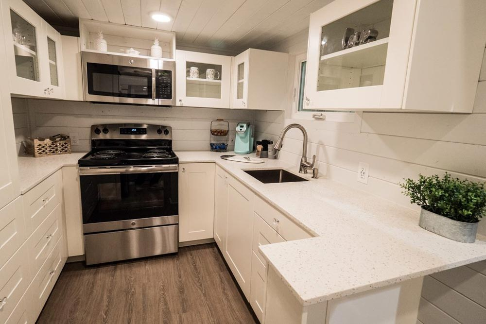 Kitchen Counter - Hekkert Hideaway by Free2Roam Tiny Homes