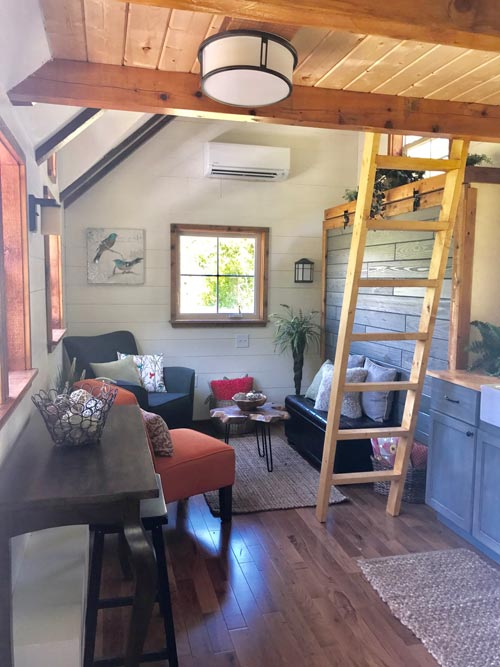 Living Area - Highland by Incredible Tiny Homes