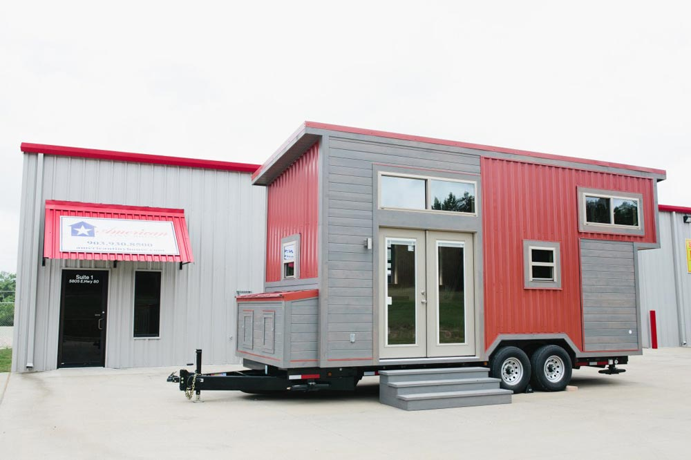 20' Tiny House - Houston by American Tiny House