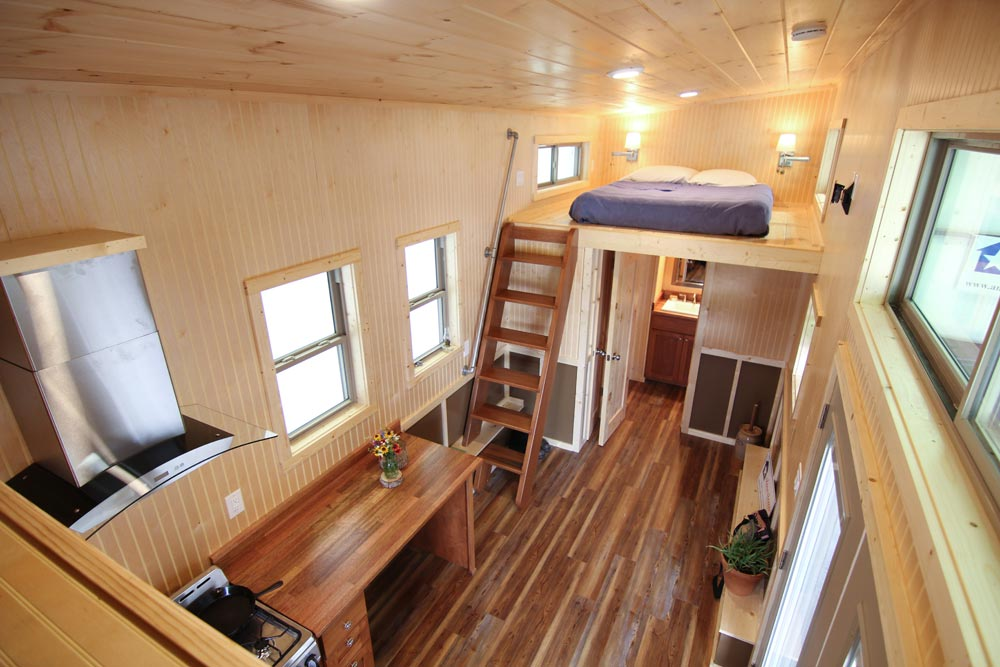 Interior View - Houston by American Tiny House