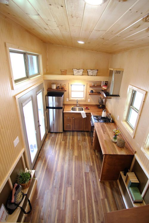 Kitchen & Entryway - Houston by American Tiny House
